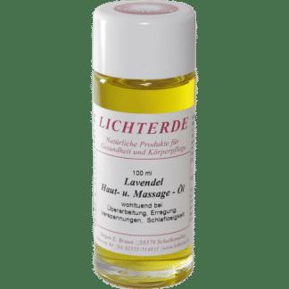 Lavendelöl 100ml – 100% naturreines Lavendel Massageöl