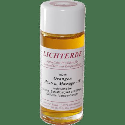 Orangenöl 100ml – 100% naturreines Orangen Massageöl