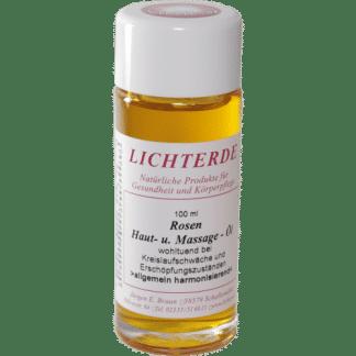 Rosen Hautöl Massageöl von Lichterde 100ml