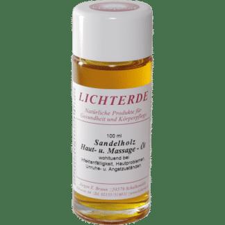 Sandelholz Hautöl Massageöl von Lichterde
