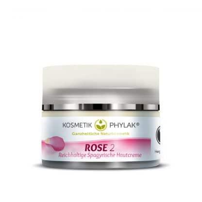 Spagyrische Hautcreme Rose trockene Haut – Naturkosmetik von PHYLAK