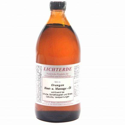Orangenöl 500ml – 100% naturreines Orangen Massageöl
